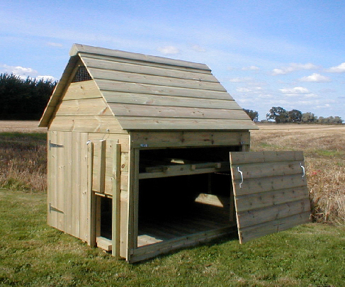 The Ellerton Chicken Coop