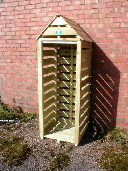 Sentry Box Log Store 15 Year Guarantee