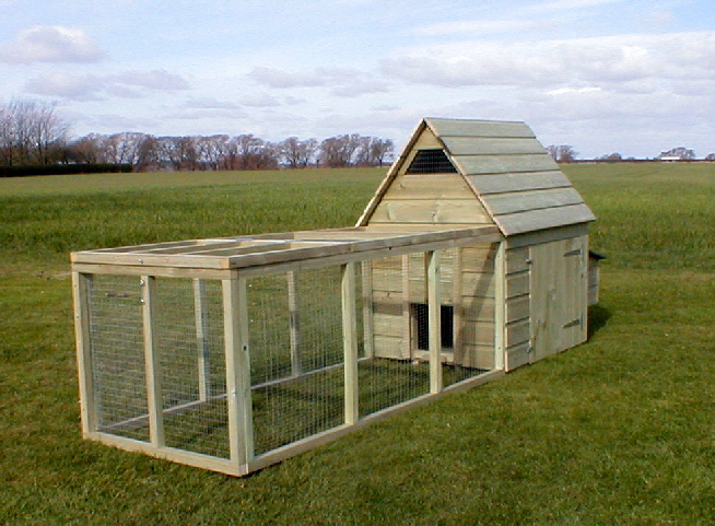 Tomr large frame chicken coop plans for Small chicken coop with run