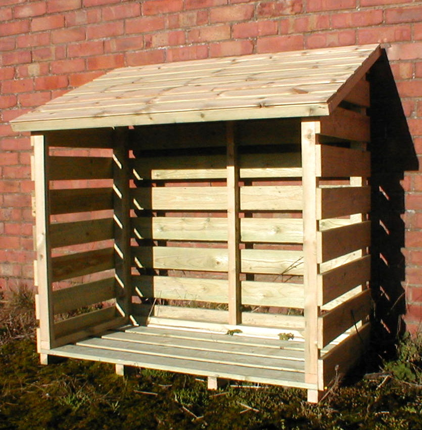 Small Log Store,  15 years Guarantee