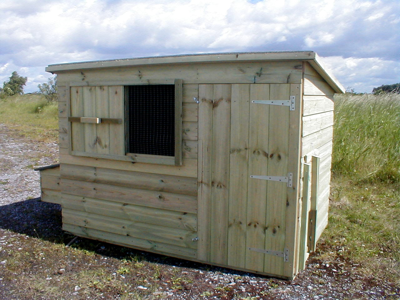 Newton chicken Coop