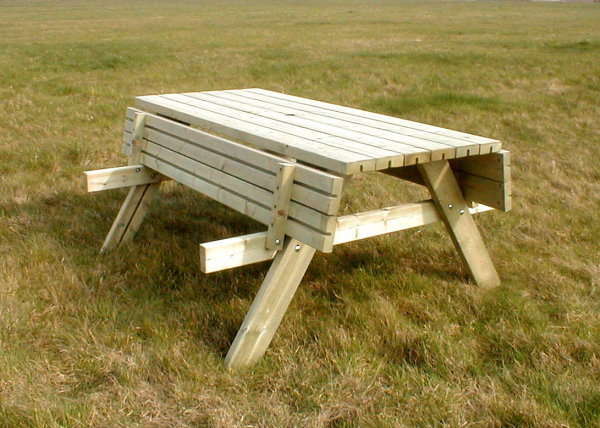 Standard picnic table pub bench for 10 person picnic table