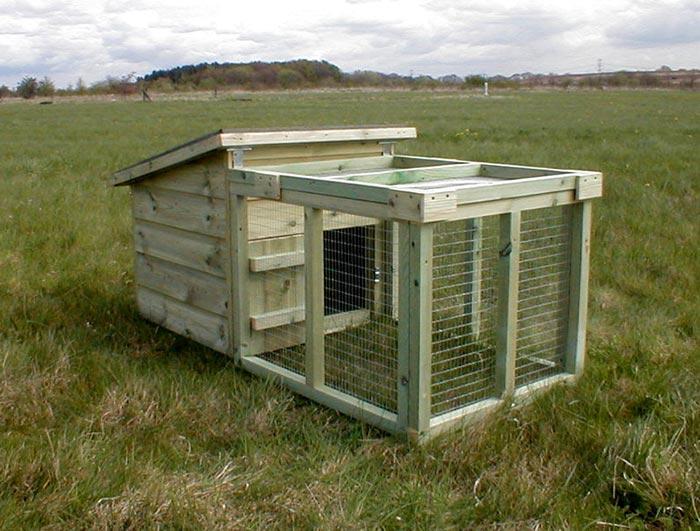 Broody coop for Duck house door size