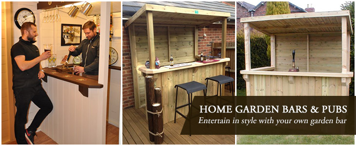 Home Outdoor Garden Bar